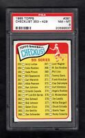 1965 TOPPS #361 CHECKLIST 353-429 PSA 8 NM/MT CENTERED!