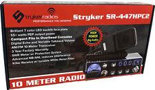 Stryker SR-447HPC2 Compact 10 Meter Radio Multi-Color Faceplate Echo &Talkback