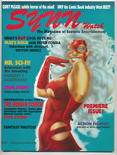 SYNN WATCH 1 Magazine of Esoteric Entertainment- FORREST J ACKERMAN, HUMAN TORCH