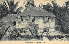 BAHAMAS - Very Rare! 1900's Native Hut at Nassau, Bahamas