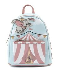 More details for loungefly disney dumbo flying circus tent mini backpack