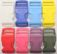 Hebillas tipo mochila, varios colores para elegir, pasacintas de 26mm.