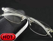 TR90 Flexible Elastic  Rimless Eyeglass Frame Glasses Transparent Clear Eyewear
