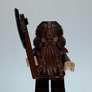 Lego Lord Of The Rings Gimli Minifigure LOR013 EUC
