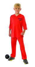 e111d176420b Kids Inmate 101 Prisoner Costume Size Large 12-14