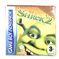 Shrek 2 Jeu Nintendo Game Boy Advance GBA PAL EUR Complet