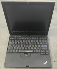 Lenovo Thinkpad X61 12.1 Intel 4GB NO HD WiFi Laptop Tablet w/dock station works