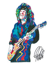 Gary Moore, Singer, Guitarist, Blues Guitar Player, Jazz Fusion, PRINT w/COA 2