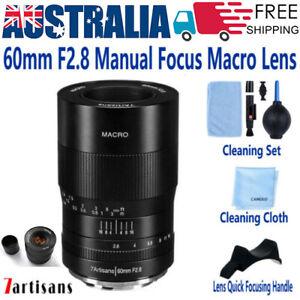 7artisans 60mm F2.8 Manual Focus Macro Lens XL Aperture for Nikon Z5 /Z50 Camera