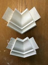 Crown Moulding inside Corner Blocks made from wood 2 pack (pine)