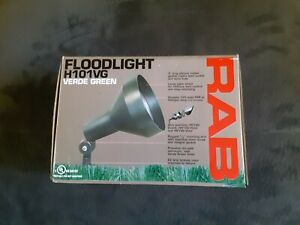 RAB Lighting H101A 150-watt Max. Landscape Flood Fixture New in Box 120V