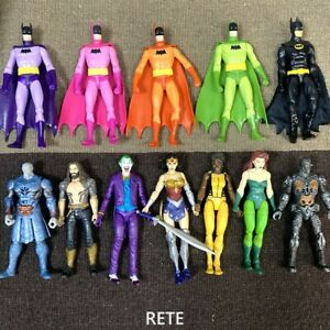 6'' Comics Multiverse Justice League Joker Wonder Woman Rainbow Batman Figure