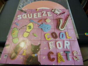 """SQUEEZE 7"""" PINK VINYL - COOL FOR CATS RARE & ORIG 1979 SINGLE PUNK NEW WAVE :EX"""