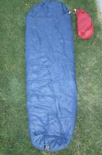 "Vtg 70s Snow Lion Sleeping Bag Berkley CA 27"" x 80"" Mountaineering Rare Polyfill"
