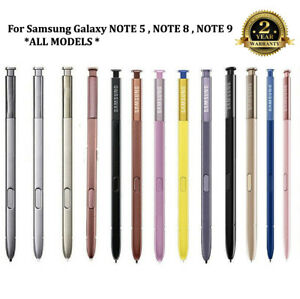 FOR Samsung Galaxy NOTE 5, NOTE 8, NOTE 9 S Pen / Stylus Replacement | ALL COLOR