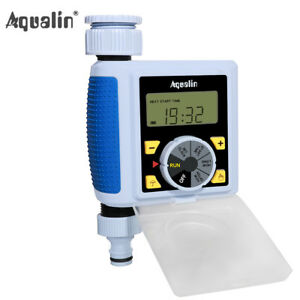 LCD Automatic Electronic Water Timer Solenoid Valve Garden Irrigation Controller