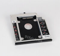 12.7mm 2nd SATA to SATA HDD SSD Caddy DVD/CD-ROM Optical Bay For Lenovo/Thinkpad