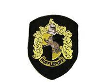 Harry Potter ecusson blason Poufsouffle avec scratch Hufflepuff hook loop patch