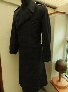 Post WW2 Military RAF Tropical Great Coat Uniform Rain Proof Officers (5349)