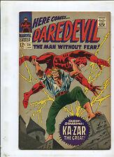 Daredevil #24 (6.5) The Mystery Of Midnight Stalker! Ka-Zar App, 1967