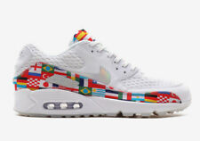 "BNIB New Men Nike Air Max 90 EM ""International Flags"" One World size 8"