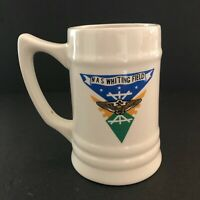 NAS Whiting Field Mug Commissioned Officers Mess Handled Tankard Milton Florida