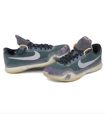 Nike Kobe X Flight Pack Basketball Sneakers Shoes Teal Reflective Silver Mens 14