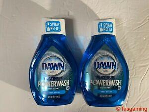 Dawn Platinum Powerwash Dish Spray Refills Fresh Scent 16 FL oz. PACK OF 2