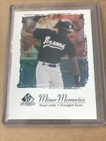 ⚾️💥 1999 SP Top Prospects Minor Memories Holo Michael Jordan (Baseball) *rare*