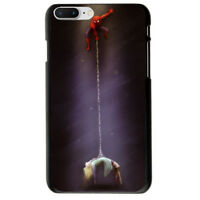Batman Spider-Man Thor The Flash Soft TPU Case Cover For iphone 6S 7 8 Plus X