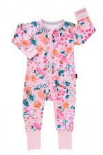 NEW BONDS Zippy Pink Girls In the Garden floral butterfly Wondersuit - size 1