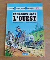 """E.O. N°1 les tuniques Bleues """"Un chariot dans l'ouest"""" de 1972"""