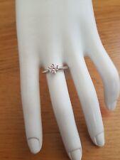 Diamonique Solitaire Simulated Diamonds Ring Size T QVC