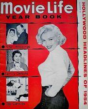 Marilyn Monroe Magazine 1954 Movie Life Year Bk Joe DiMaggio Gene Autry Champion