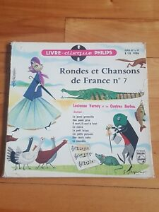 rondes et chansons de france # 7 , livre disque