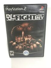 (NO GAME) Def Jam Fight for NY (Sony PlayStation 2 PS2) CASE AND MANUAL ONLY