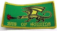 """Dungeons and Dragons Patch Bag of Holding 4"""" x 2"""" Wizard Dragon"""