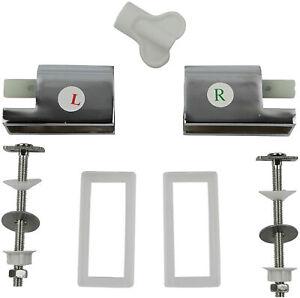Ersatz Absenkautomatik mit Montageset für Duroplast WC Sitze