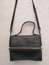 AUTHENTIQUE sac à main  FRANCESCO BIASIA cuir  (T)BEG vintage bag __