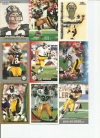 1970-2004 pittsburgh steelers 225+ CARD LOT
