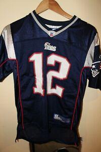 Reebok Tom Brady Patriots Jersey sz. Youth L 14-16