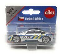 Siku metall Limited Edition Tschechien 1458 BMW i8 Policie Polizei Sondermodell