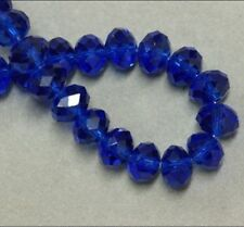 Cheap wholesale various colors 6x8mm crystal beads 72pc. Z.0531- Free Shipping