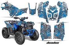 ATV Graphics Kit Decal Wrap For Polaris Scrambler 850XP 1000XP 13-18 DEADEN BLUE