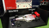 F1 FORMULA 1 INDIANAPOLIS US GRAND PRIX EVENT CAR INAUGURAL 1/18 Minichamps