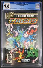 Crisis on Infinite Earths #1 CGC 9.6 4/85 3826549015 - 1st Blue Beetle in DC