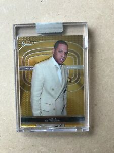 2005-06 Topps Finest Jay-Z Uncirculated Card #287/399