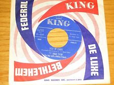"COUNTRY 45 RPM - T.TEXAS TYLER - KING 5249 - ""DECK OF CARDS"""
