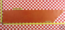 """AUTHENTIC HORWEEN BOLD ORANGE ESSEX 4-5 oz LEATHER HIDE 36""""x8"""" 2ND QUALITY"""