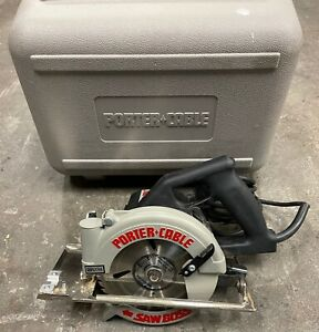 """Porter Cable 6"""" Circular Saw model 345 Heavy Duty Saw Boss - Works Great"""